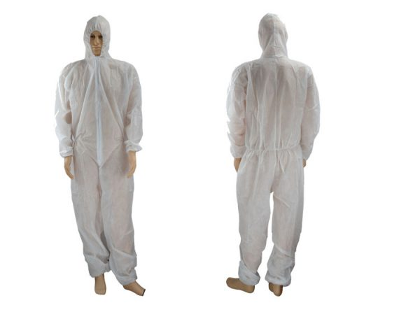 Disposable PP and SMS Protective Coverall
