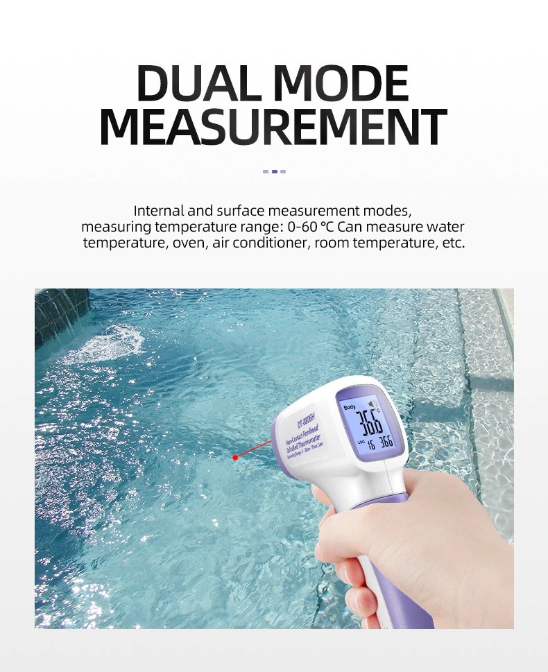 Multi-function Digital Infrared Thermometer Dual Mode