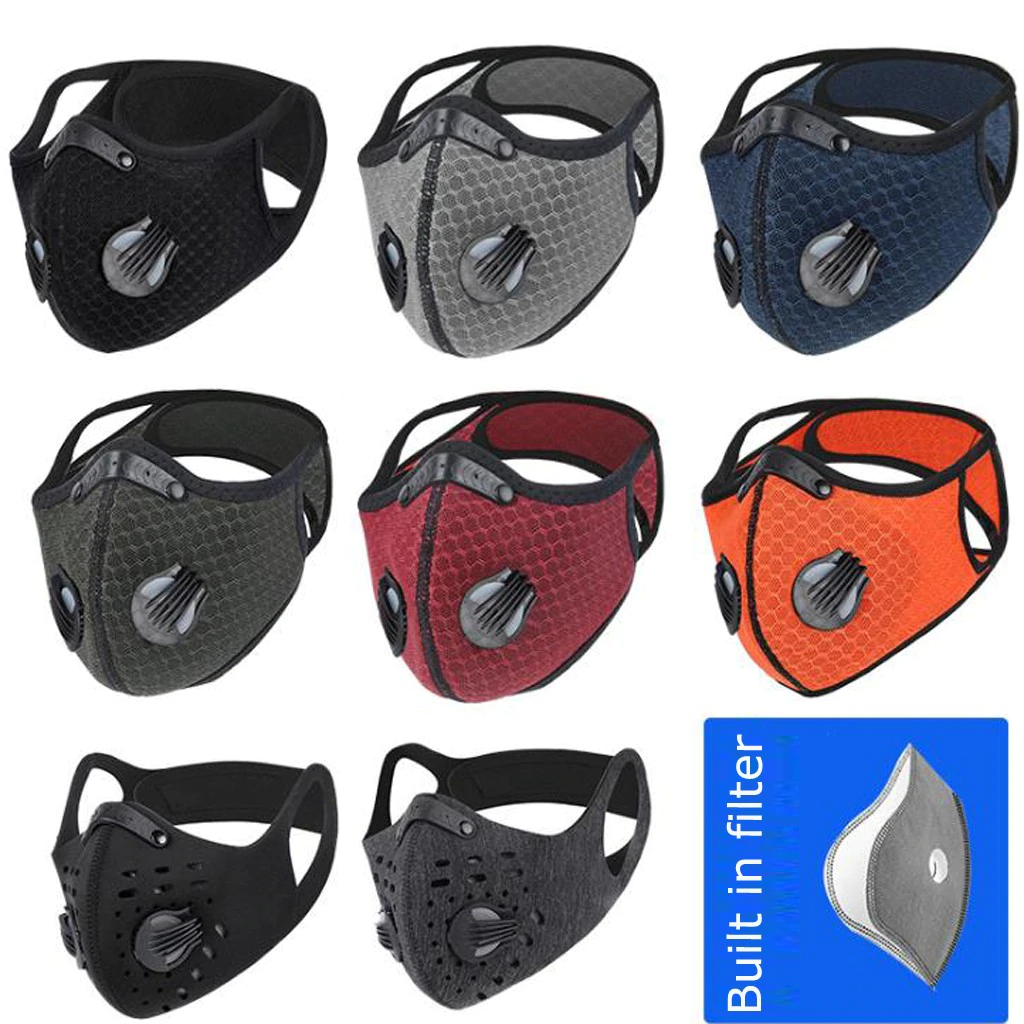 Carbon Filter Folding Face Respirator Masks