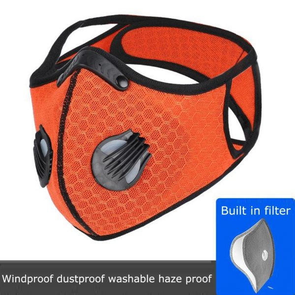 Colorful Carbon Filter Folding Face Respirators Masks