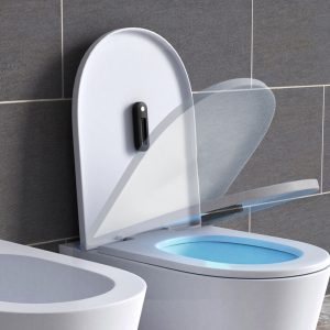 Portable Toilet UV Light Sanitizer Wand (Wireless with Built-in Battery)